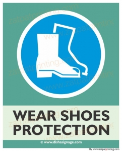 Wear Shoes Protection