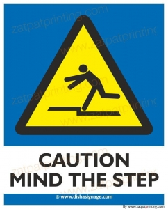 Caution Mind The Step