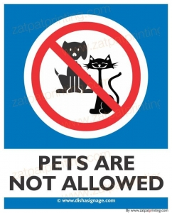 Pets Are Not Allowed