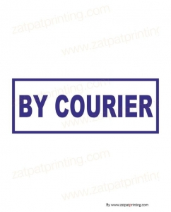 By Courier Stamp