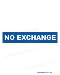 No Exchange