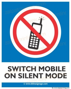 Switch Mobile On Silent Mode
