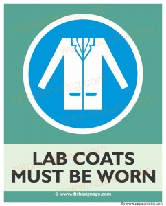 Lab Coats Must Be Worn