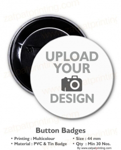 Button Badge 44 mm