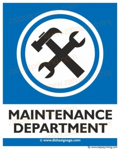 Maintenance Department